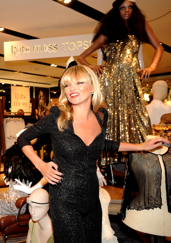 Launch of Kate Moss Signature Collection for Topshop