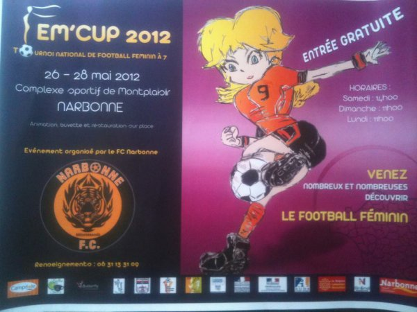 Tournoi de football feminin national FEM'CUP