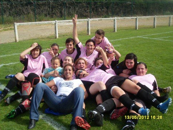 LE FOOTBALL FEMININ SE JOUE AU FC NARBONNE (1er club de football féminin)