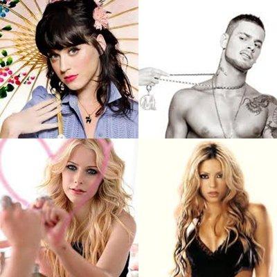 Les chanteurs et chanteuses