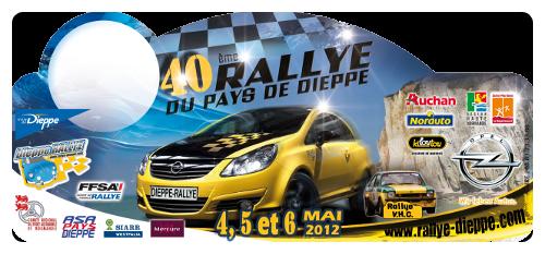 Rallye de dieppe année 2012 !!!