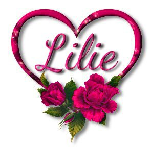 ♥ Love Rose Lilie ♥