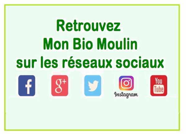 Mon Bio Moulin est OUVERT du lundi après-midi au samedi midi.