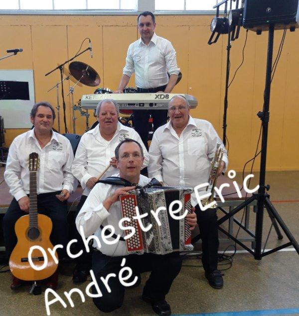 L'animation, la musique et la fête avec l'orchestre folklore, musette, variété/dj Eric André du Tarn