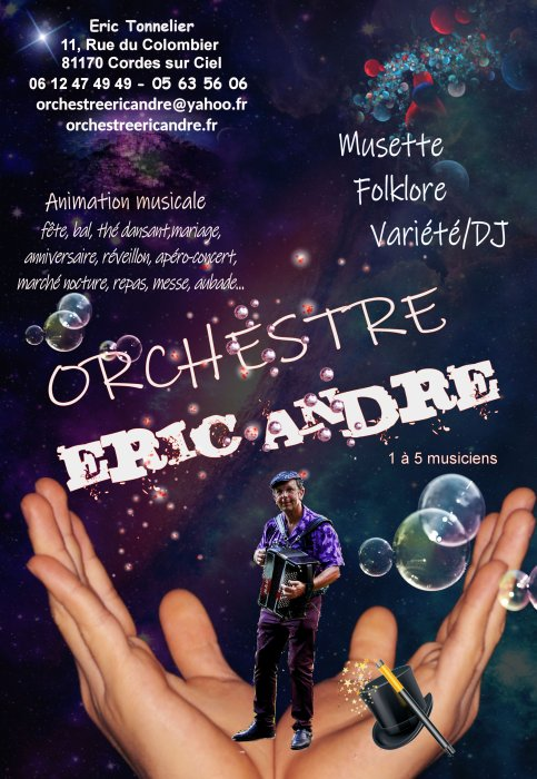 orchestre eric andre
