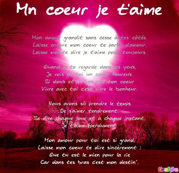 Poeme Pour Mn Chéwi Blog De Loove You55