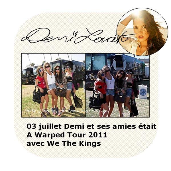 Découvré de nouvelle photos Tiger Battre un shoot de 2010 + des photos twitter de Demi ses amies fétent la journée de l'indépance des USA.