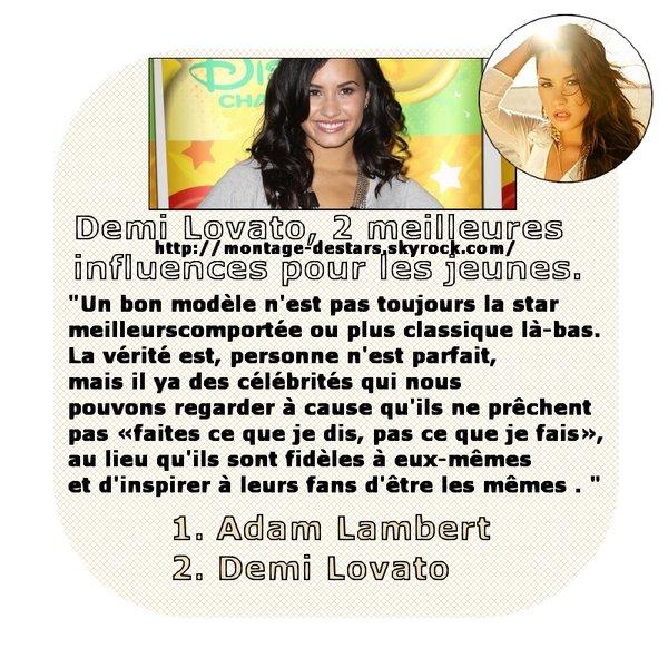 ♥Quelques truc à s'avoir sur à propo de la Jolie Demi Lovato♥