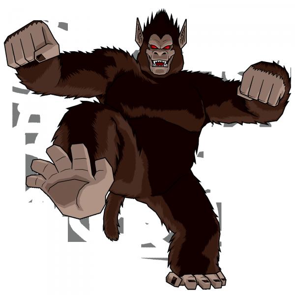 Sangoku Petit Gorille Géant