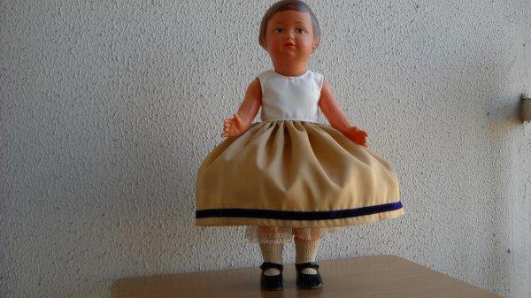Françoise se déguise.