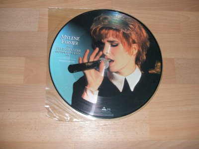Maxi 45 tours Mylène Farmer Picture disc