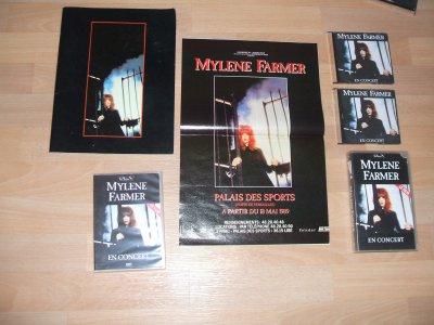 Ensemble Mylène Farmer Concert 1989