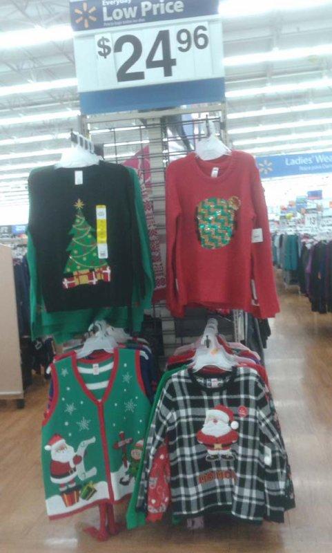 Les plus pire pulls de Noël aux Etats Unis