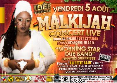 DERNIERE DATE EN FRANCE LE 5 AOUT   EN LIVE A PARIS !!!!