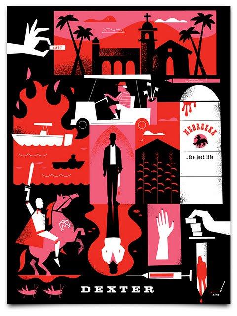 Dexter saison 7 promo / Poster de Ty Mattson