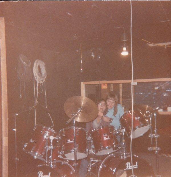 Iron Bird - Le 25 Février 1985, en studio à Lille.
