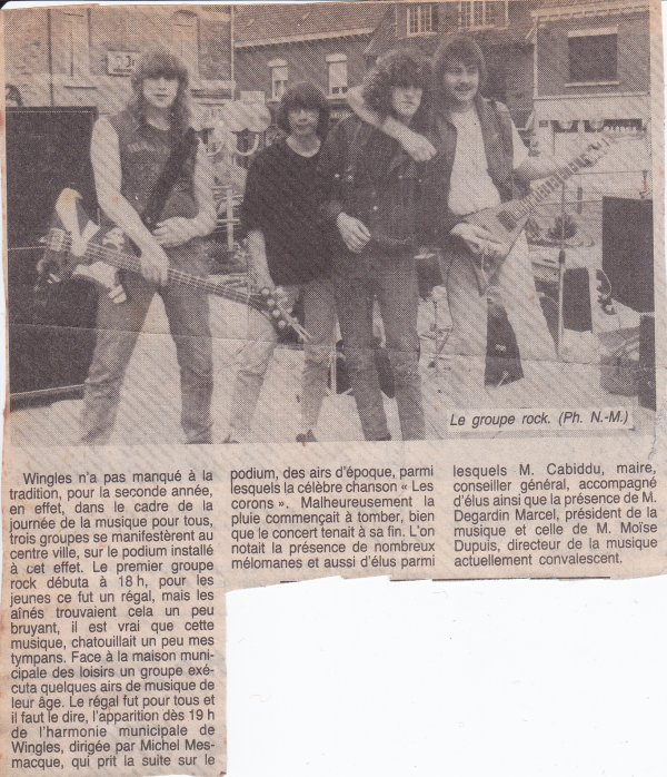 Iron Bird - Le 21 Juin 1985 sur la Place de Wingles