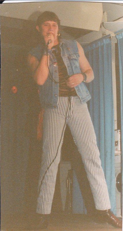 Eric Goyat - Le 23 Novembre 1990 à la salle des fêtes de Beaurains