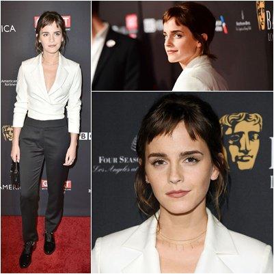 Janvier 2018 Cérémonie des BAFTA à Los Angeles
