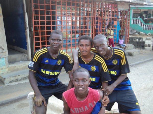 après le match