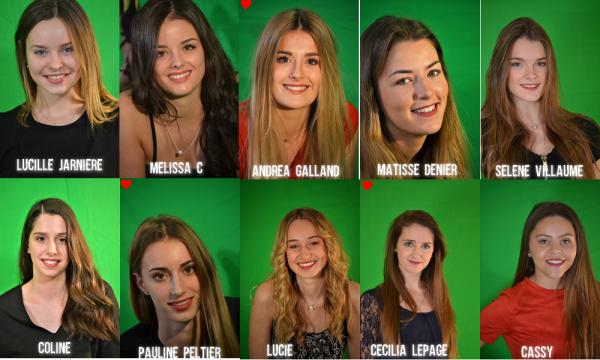 Candidates Miss Vendée 2018