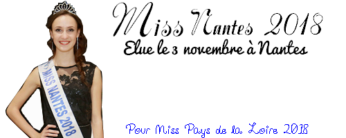 🎽 Election Miss Nantes 2018 (3/11/17) 🎽