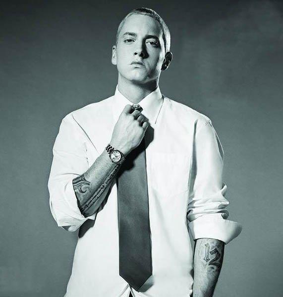 On a tous une face cachée, moi par exemple c'est Eminem alias Slim Shady...