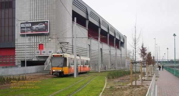Mes deux premières motrices BN entre le Sud et Tirou à Charleroi.