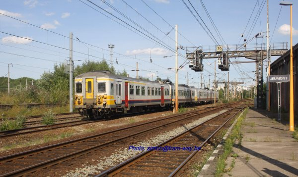 Derniers trains voyageurs vers Jeumont ( F )