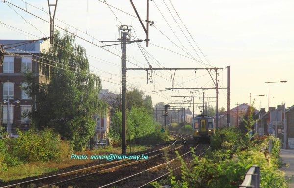 Dernier train voyageur de Jeumont ( F )
