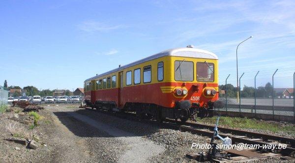 La ligne 287 ex L. 94. en autorail 4506. II