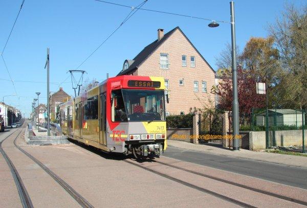 Première BN entre Jumet et Charleroi. IV
