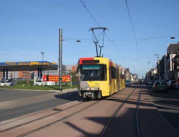 Première BN entre Jumet et Charleroi. II