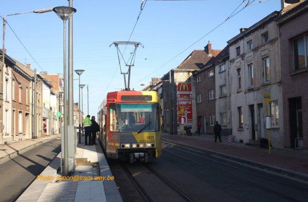 Première BN entre Jumet et Charleroi. I .