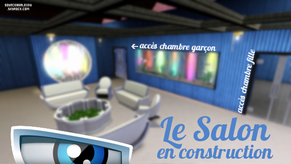 Le Salon en construction !