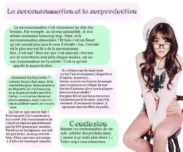 Sujets de la vie | K-pop | J-pop | Dramas | Blogs recommandés | Autres choses La surconsomation et la surproduction