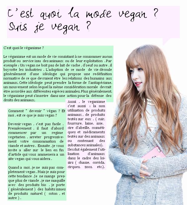 Sujets de la vie | K-pop | J-pop | Dramas | Blogs recommandés | Autres choses Le véganisme