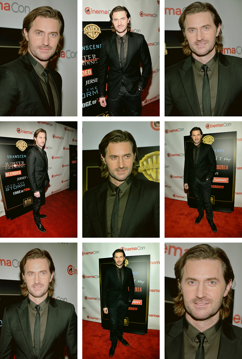 27/03/2014 ; CinemaCon & 30/03/2014 ; Empire Film Awards de Londres