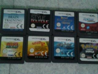 Photo des jeux de DS