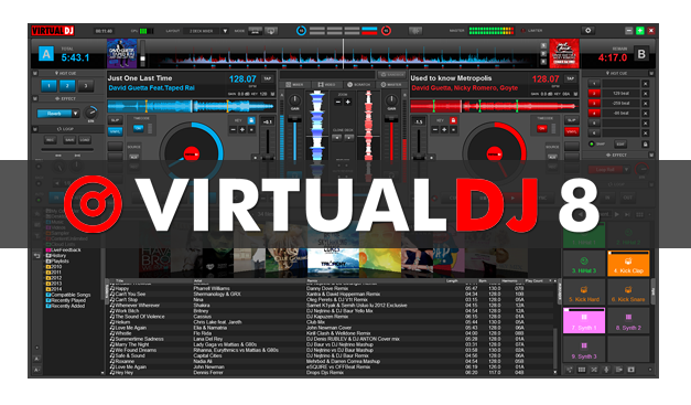 Virtual DJ Professional 8.00.1897 Latest And Full Version Free Download With Crack