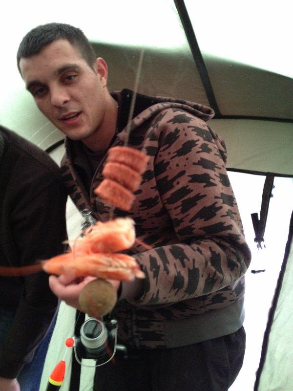 peche 2012 montage spécial crevettes