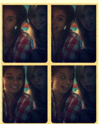 Ma meilleure-amie.♥