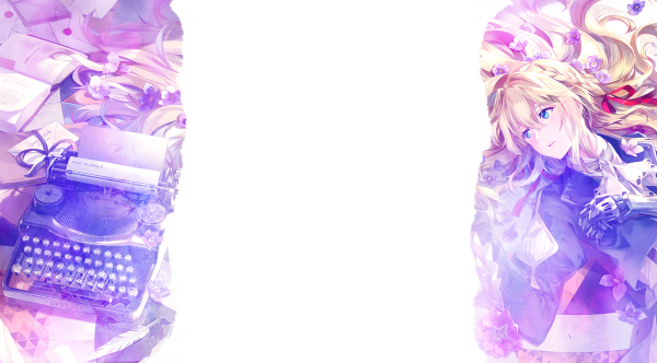 Habillages Violet Evergarden (libre service)
