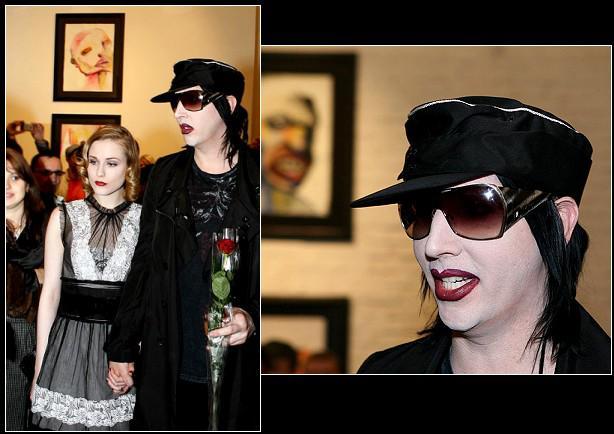 - Marilyn Manson en exposition en Russie -