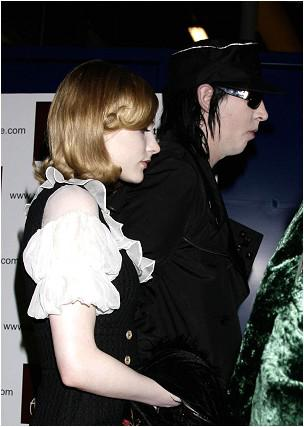 ♦ † Marilyn Manson & Evan Rachel Wood au concert de Led Zep † ♦
