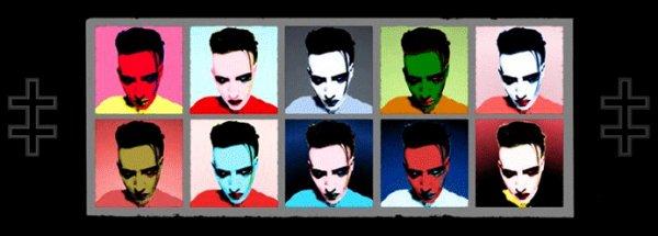. • Marilyn Manson dans les charts • .