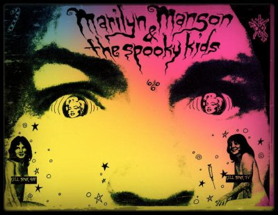 . • Marilyn Manson & The Spooky Kids • .