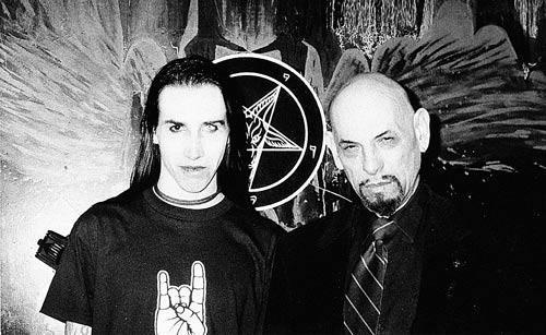† Marilyn Manson rencontre le fondateur de l'église satanique †