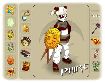 Présentation des personnages de Phire.