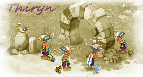 Présentation des personnages : Thiryn
